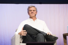 Steve Case seen on day two of Summit LA18 in Downtown Los Angeles on Saturday, Nov. 3, 2018, in Los Angeles. (Photo by Amy Harris/Invision/AP)