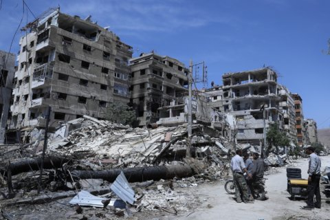 Chemical weapons watchdog says chlorine was used in Syrian town
