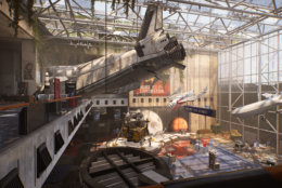 The Air and Space Museum  has been utterly wrecked in The Division 2. (Courtesy Ubisoft/Massive)