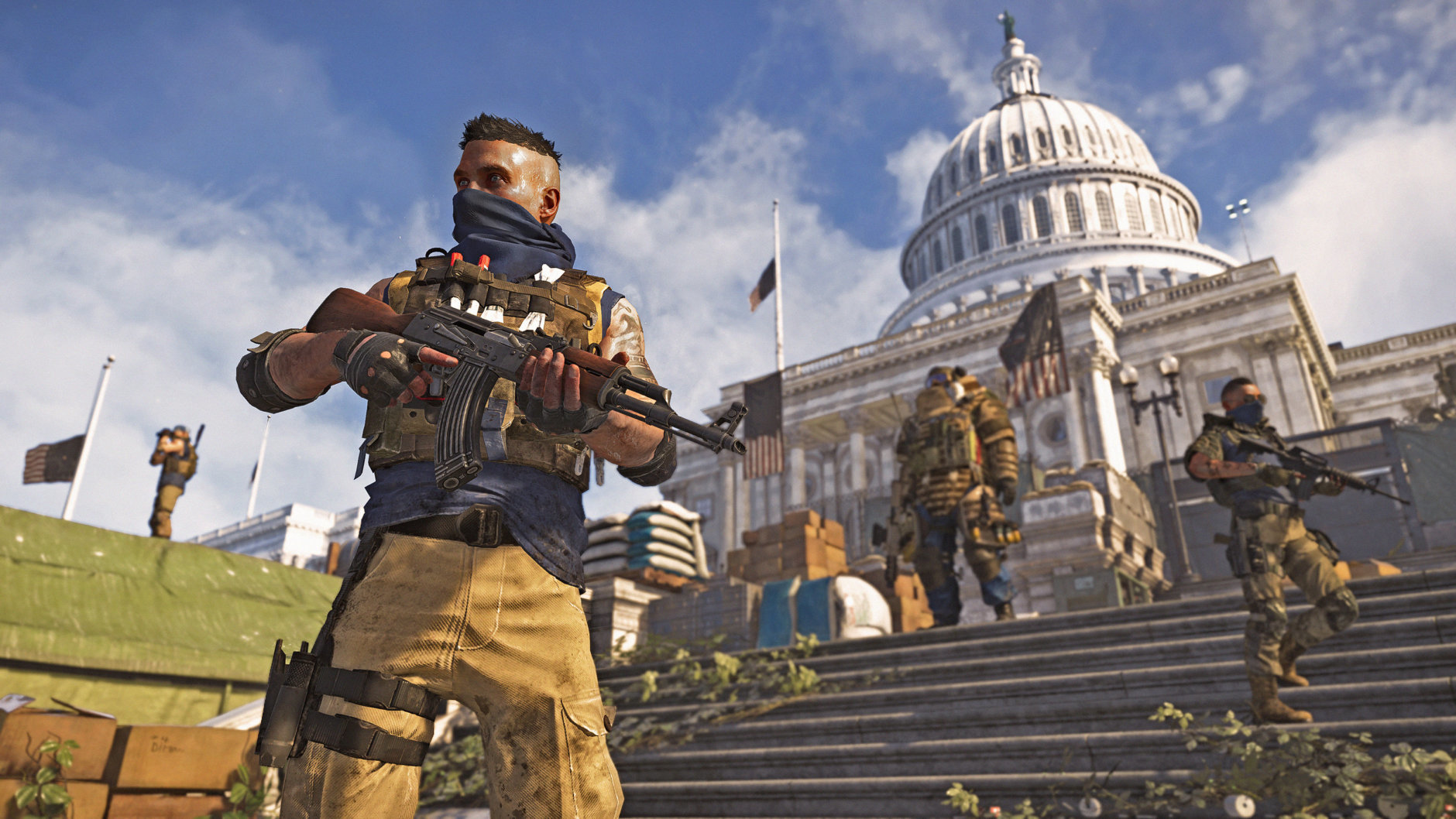 The True Sons are a band of militant enemies in Division 2. (Courtesy Ubisoft/Massive)