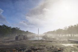 The National Mall is in a constant state of combat in The Division 2. (Courtesy Ubisoft/Massive)