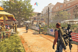 Residents of the District have a long road of rebuilding ahead of them in The Division 2. (Courtesy Ubisoft/Massive)