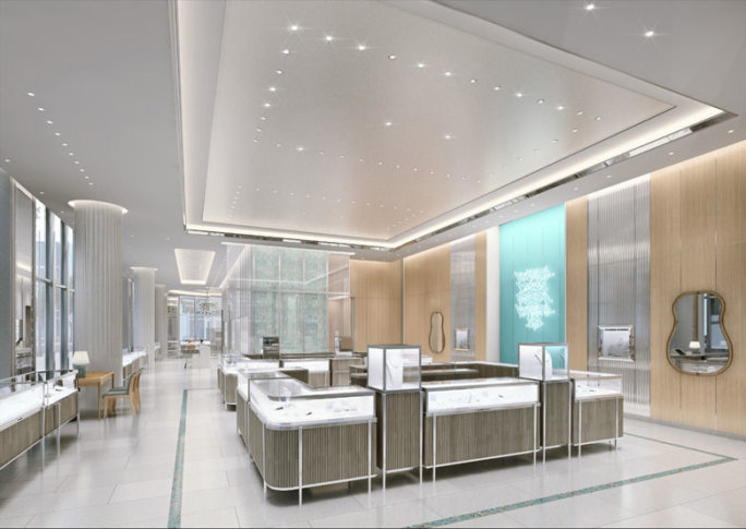 9c782f8fd Luxury jeweler Tiffany & Co. has opened its first store in D.C. (Courtesy  Tiffany & Co.)