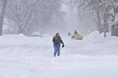 Storm dumps more than foot of snow in parts of Upper Midwest