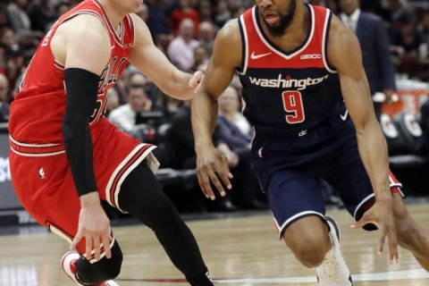 Wizards lose to Bulls 126-120 in a close contest at United Center