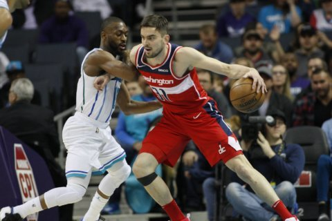 Wizards host Hornets in pivotal matchup between playoff hopefuls