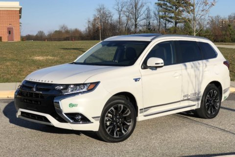 Car Review: Mitsubishi Outlander PHEV lets you plug in, use less gas
