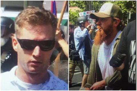 Police seek IDs of 'Sunglasses' and 'Red Beard' in Charlottesville parking garage attack
