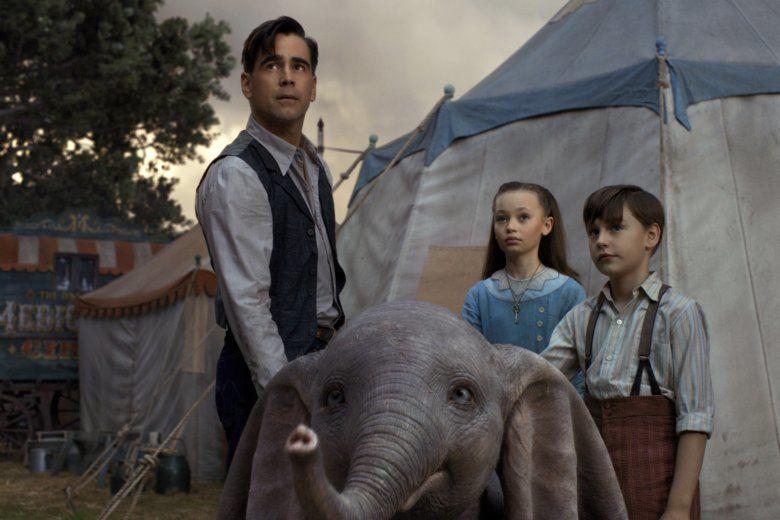 Movie Review: Tim Burton's live-action 'Dumbo' too sad for