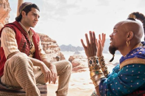 A new whole new world: Disney conjures a trailer for its live-action 'Aladdin'