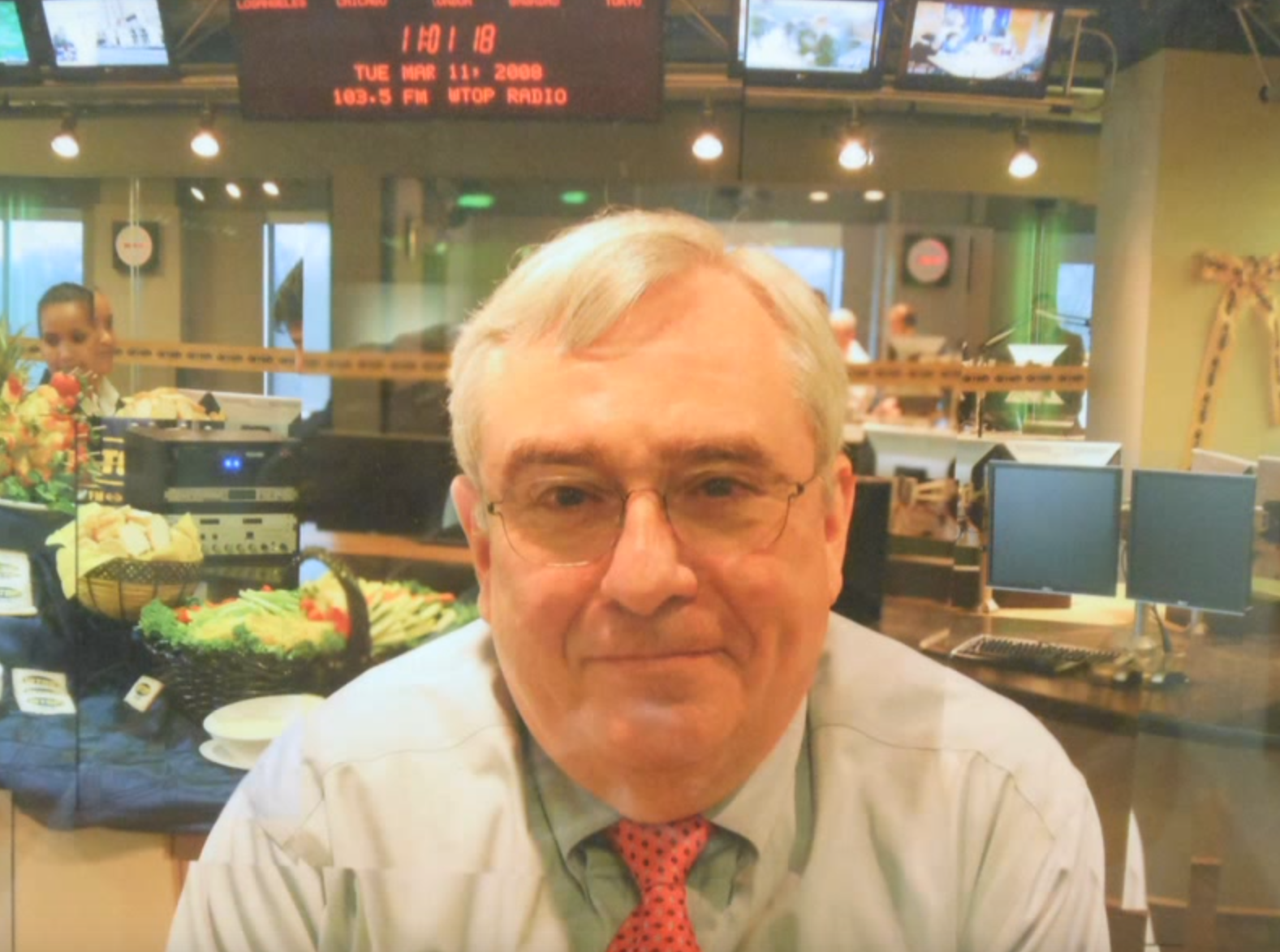 "The station's longtime success is best summed up by Jim Farley, former news and programming director (1996–2013), who has been frequently credited for helping make Washington's Top News so successful. It's about being what he called an ""indispensable utility."" (File photo)"