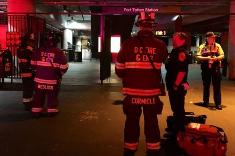 Person struck by Metro outside Ft. Totten; Red Line partially suspended