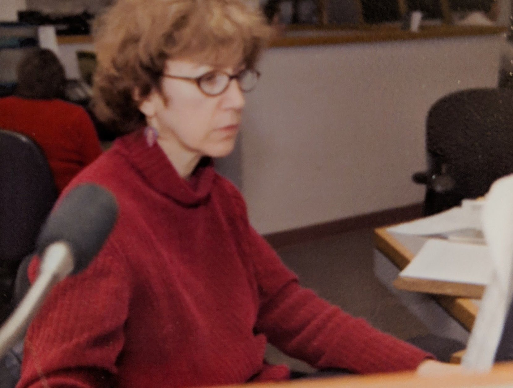Another alum, recently retired, is editor Judy Taub. She worked here for 35 years. (File photo)