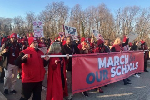 Md. lawmakers promise funding — now and in the future — at 'March for Our Schools'