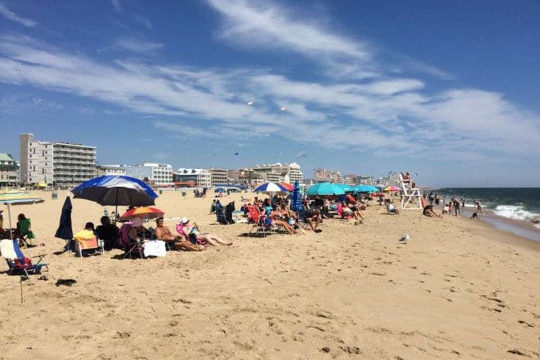 If you're missing warm days on the beach, you can now set up your Alexa to play the sounds of Ocean City. (WTOP/Nick Iannelli)