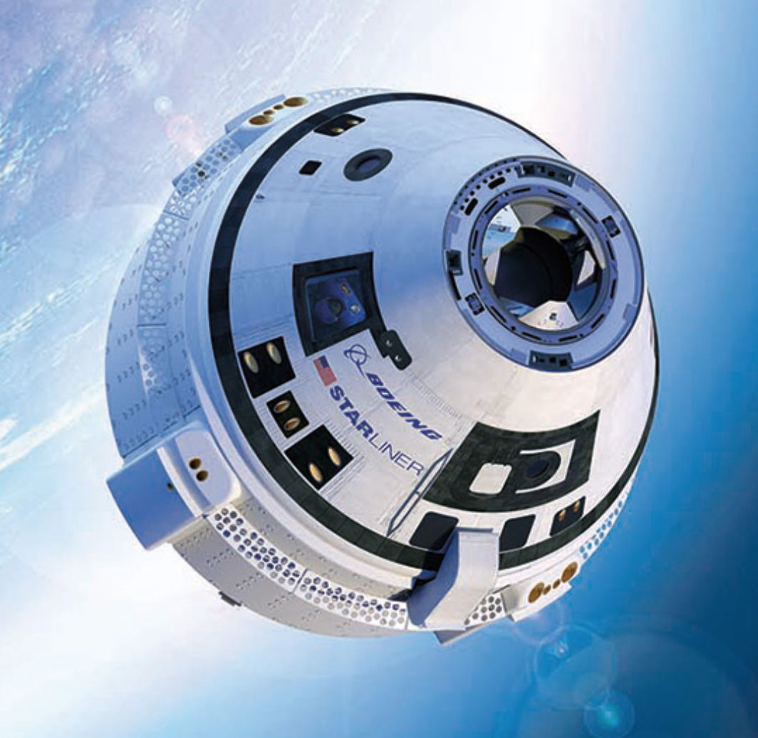 The Boeing CST-100 Starliner. (Courtesy Boeing)