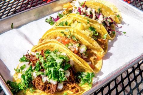 Free tacos at Taqueria Local