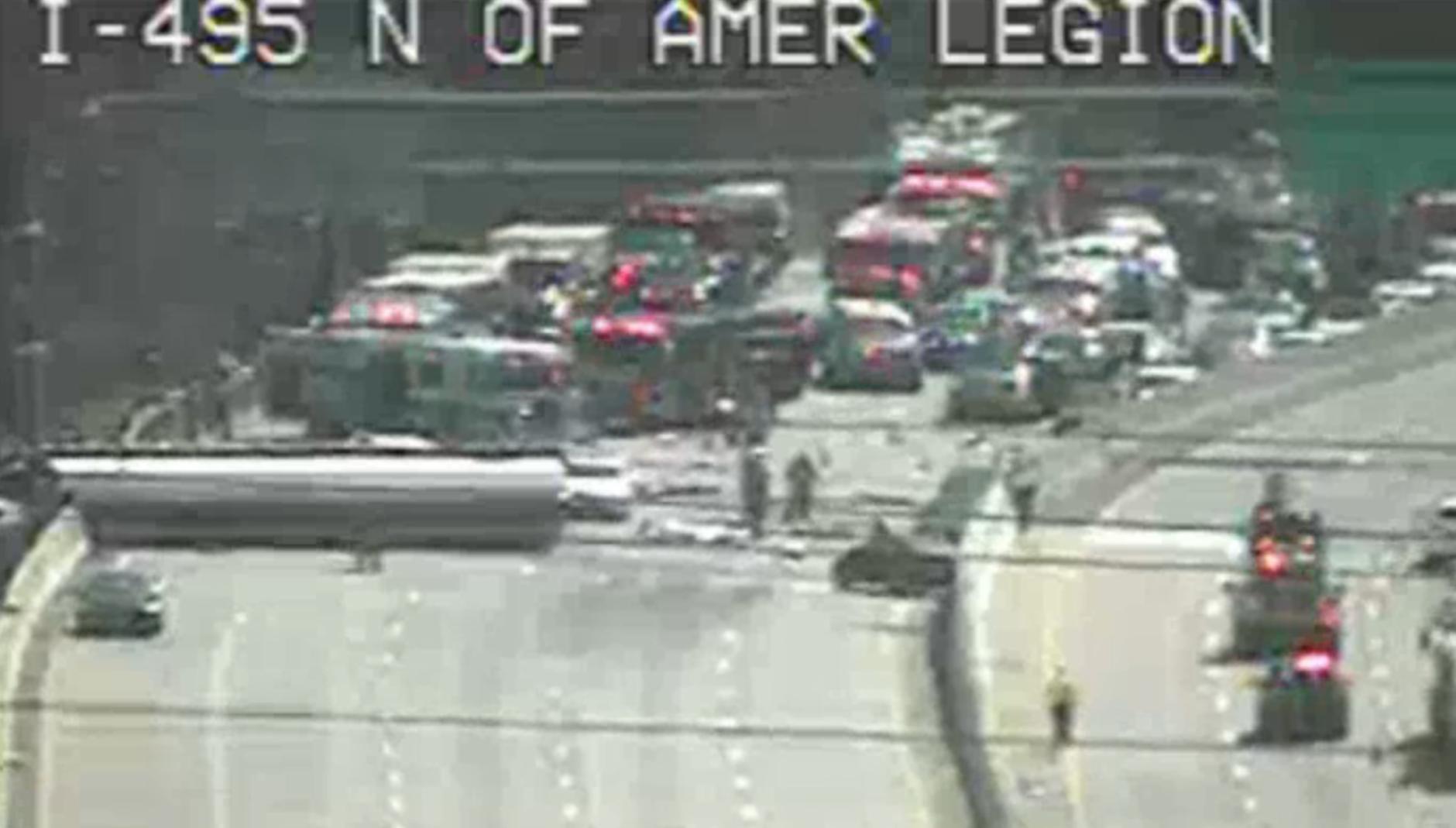 Tanker turns over, blocks Inner Loop traffic into Md  | WTOP