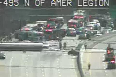 Inner Loop nightmare: Tanker flops, blocks Legion Bridge traffic into Md.
