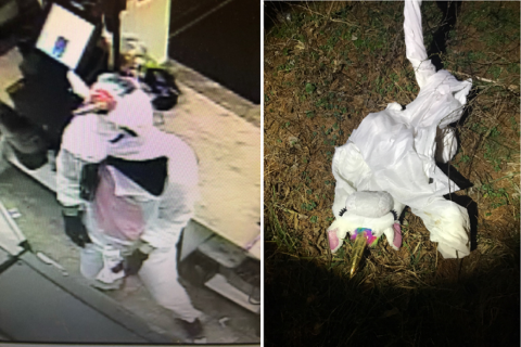 2 arrested in armed Maryland robbery featuring unicorn disguise