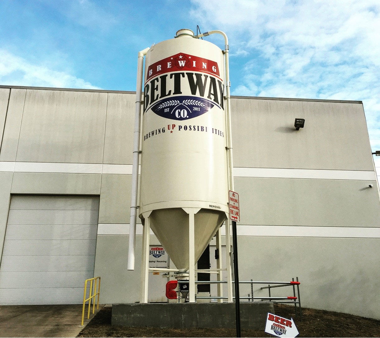 Based in Sterling, Virginia, Beltway Brewing launched in 2013 as a contract, partner and private lable brewing facility. (Courtesy Beltway Brewing)