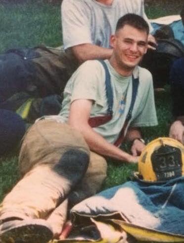 A photo of Christopher Slutman released by the Kentland Volunteer Fire Department. Slutman was a lifetime member of the all-volunteer force. (Courtesy Kentland Volunteer Fire Department)