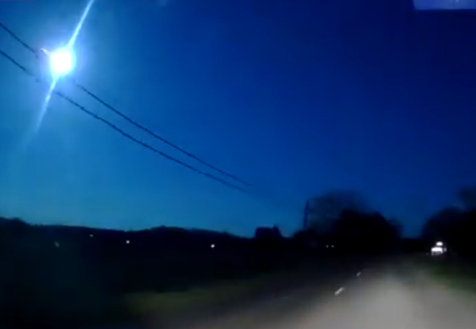 WATCH: Fireball streaks across DC sky | WTOP