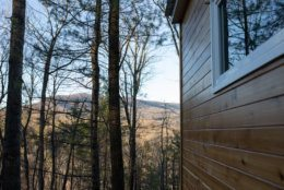 The tiny house in Lost River, West Virginia, will be available to rent starting this summer. (Courtesy Lost River Vacations)