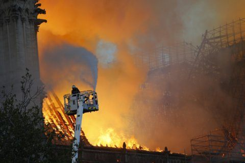 Why the Notre Dame fire was so hard to put out