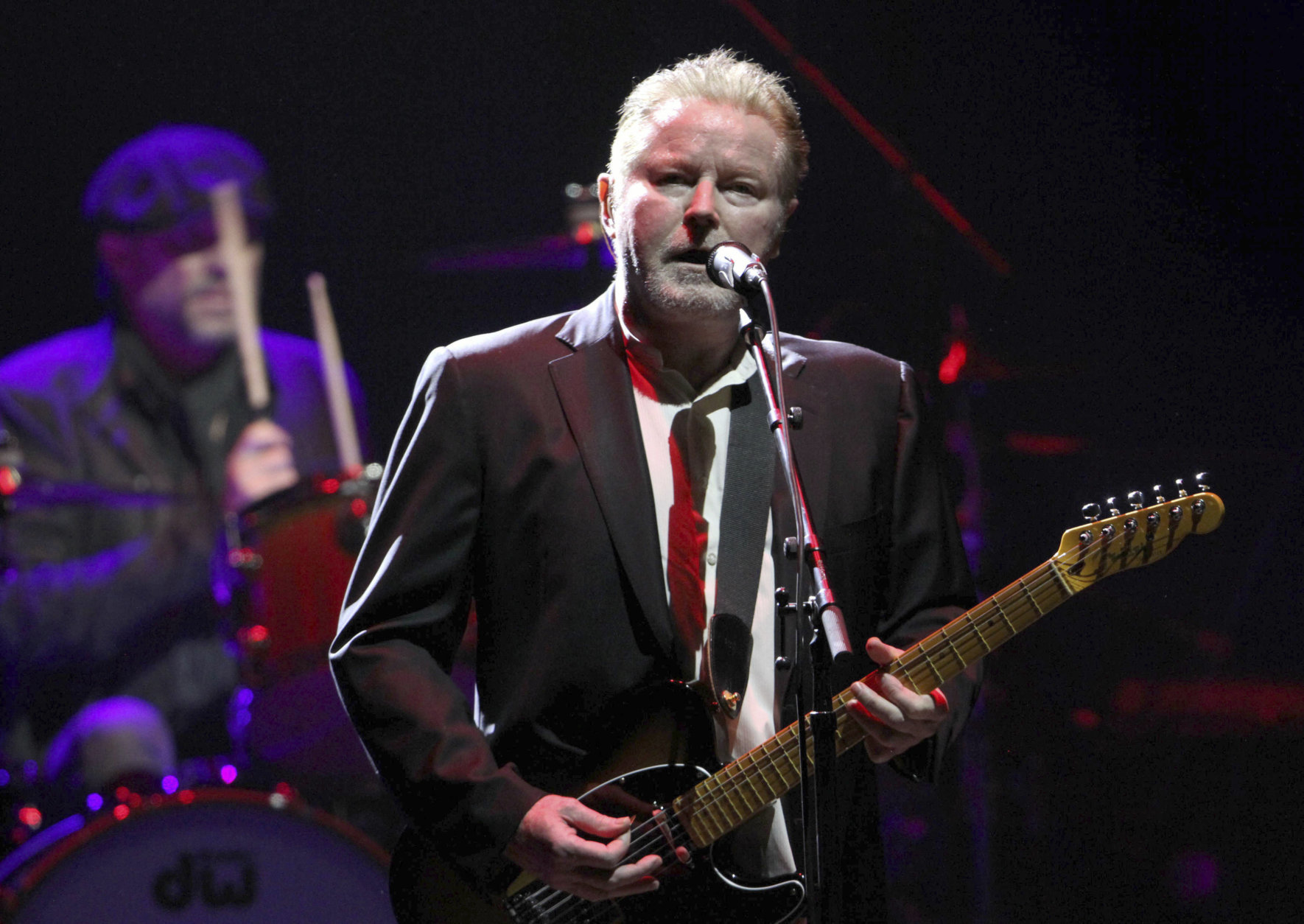Don Henley of The Eagles performs at the Fox Theatre on Sunday, January 22, 2017, in Atlanta. (Photo by Robb Cohen/Invision/AP)