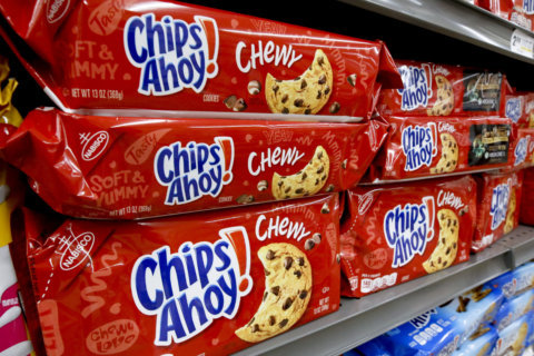 Chewy Chips Ahoy cookies recalled