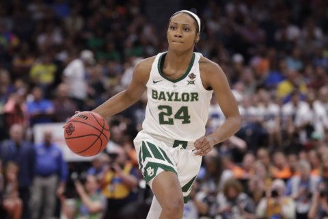 Jackson leads Baylor to NCAA women's title over defending champ Notre Dame