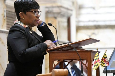 Adrienne Jones makes history as 1st woman speaker of Md. House of Delegates
