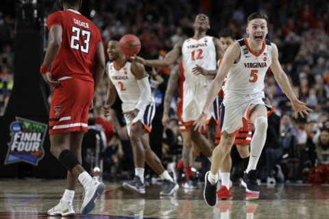 The biggest Dance: Virginia beats Texas Tech in OT to win 1st national basketball title