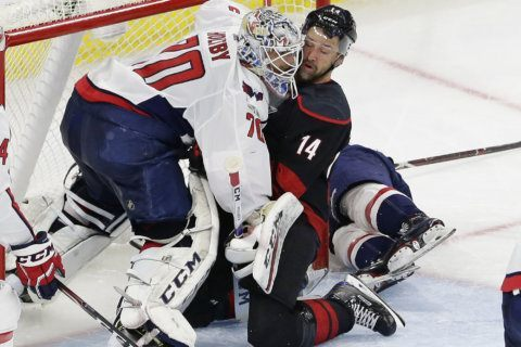 Time announced for Capitals-Hurricanes Game 7
