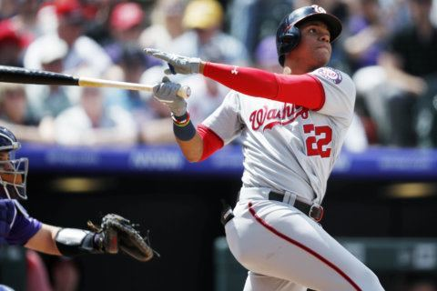 Nats lose 9-5 to Rockies, drop series in Colorado