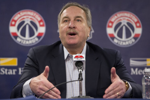 Wizards part ways with team president Ernie Grunfeld