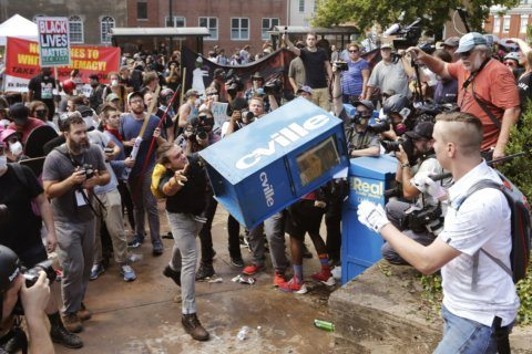 Charlottesville rally planner jailed for contempt of court