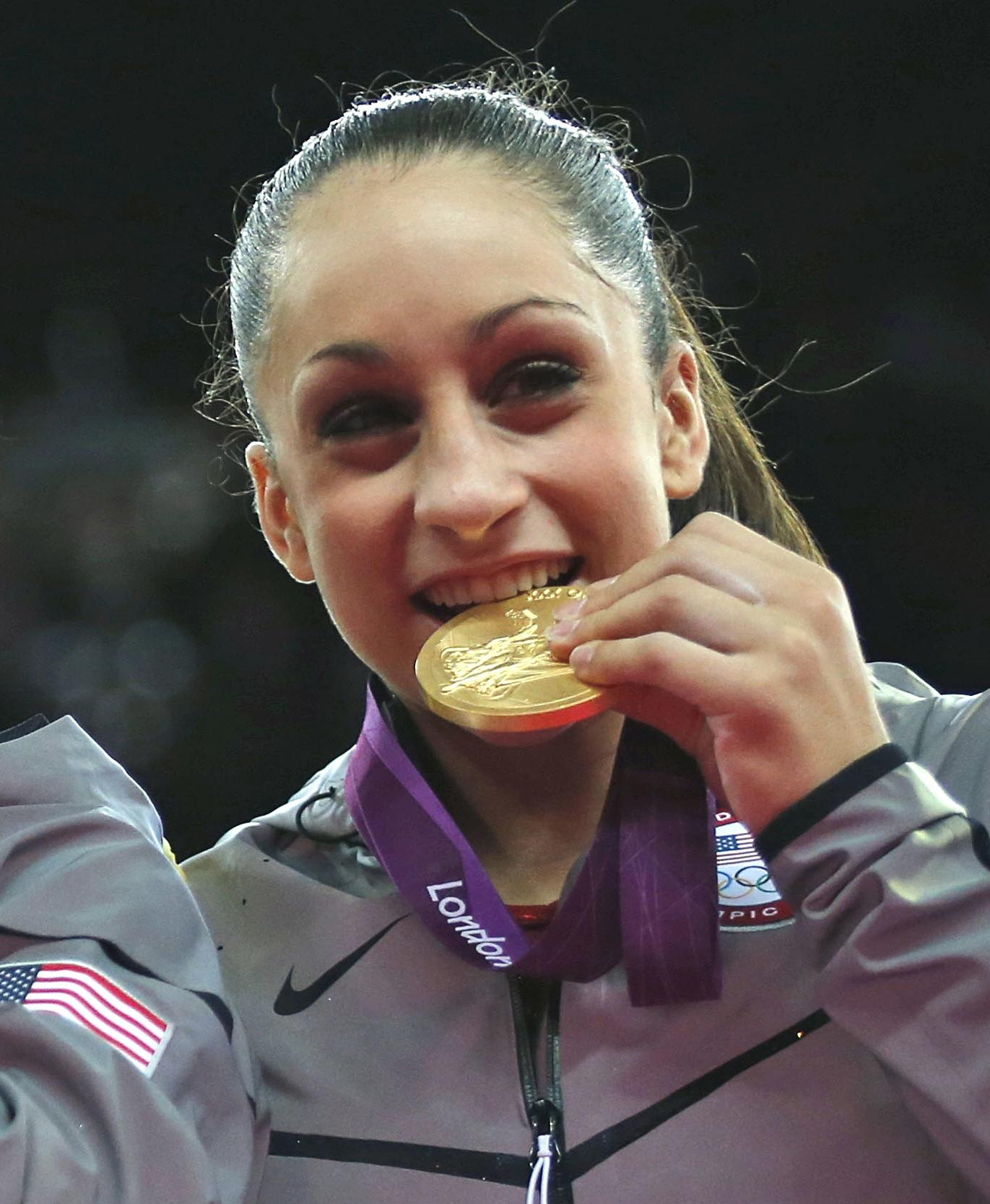 Designall20 July 2012: Gold Medalist Jordyn Wieber To Lead Arkansas Gymnastics