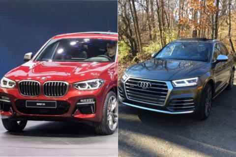 Car comparison: Audi SQ5 vs. BMW X4