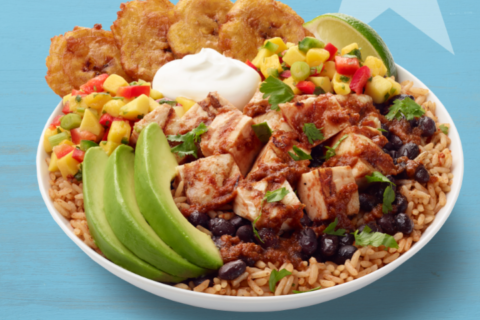 Cubano Bowl wins California Tortilla customer vote