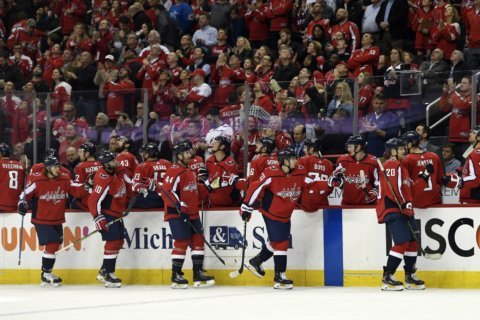 LISTEN: Hear Highlights from Capitals-Hurricanes Round 1 Game 1