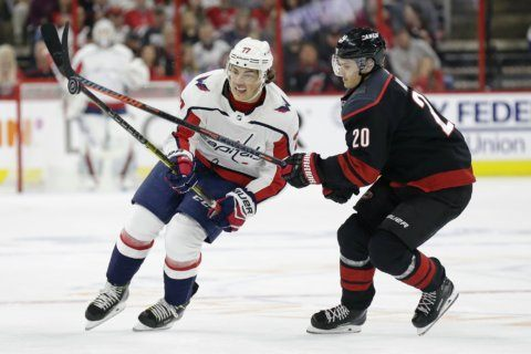 After surgery, Caps' Oshie expected to miss remainder of Stanley Cup Playoffs