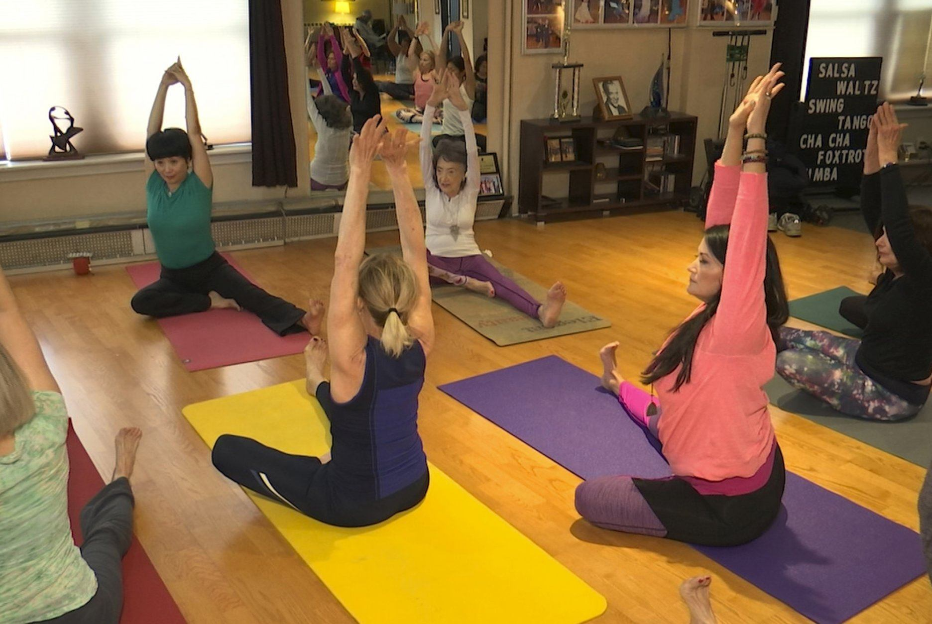 100 Year Old Yoga Instructor Keeps Moving Dancing Wtop