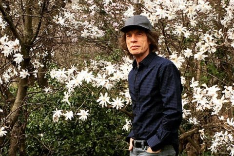 Mick Jagger back on his feet after heart surgery