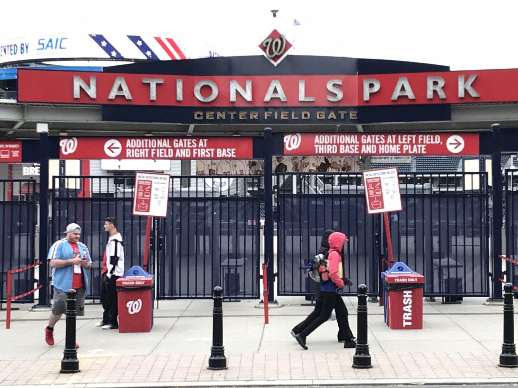 Nats Park awaits Bryce's return Tuesday. (WTOP/Michelle Basch)