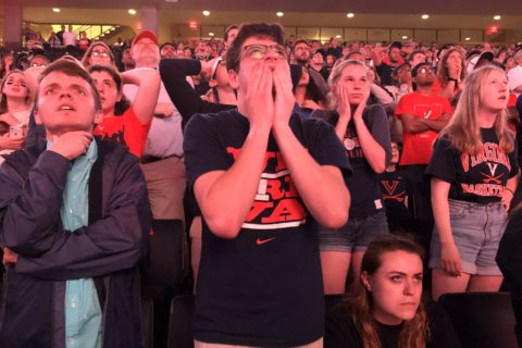 Fan reaction: Charlottesville celebrates its first-ever national basketball title