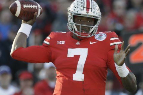 Redskins get local QB, draft Ohio State's Haskins with 15th pick