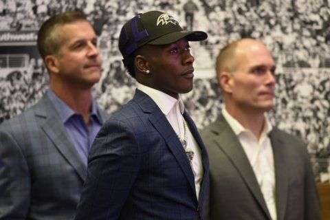 DeCosta cements several holes in NFL draft debut with Ravens
