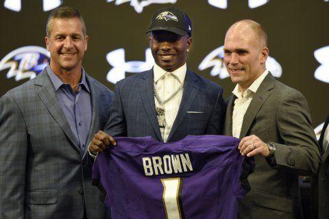 Ravens pick Louisiana Tech DE Ferguson, Notre Dame WR Boykin